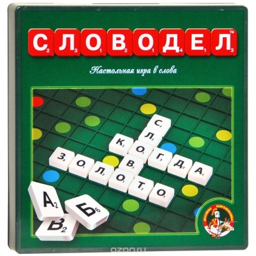 """Slovodel-Настольная игра """"Словодел"""""""